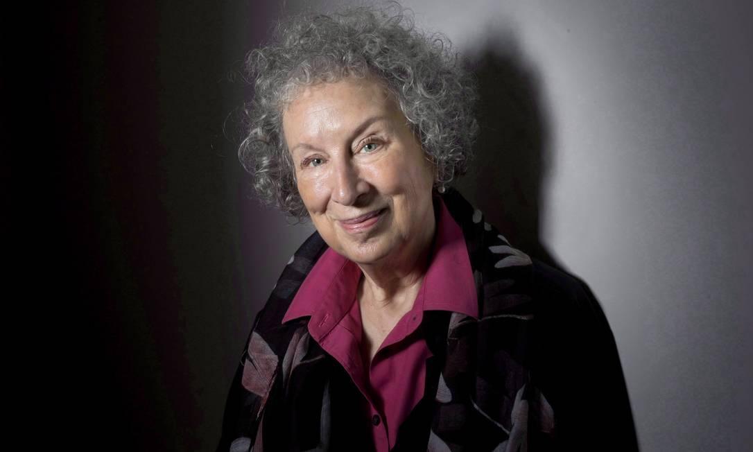 Embora tenha previsto as mazelas atuais, Margaret Atwood avisa: 'Não sou profeta' Foto: Darren Calabrese / he Canadian Press via AP