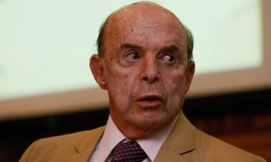Vice-governador passou por cirurgia e segue internado Foto: Pablo Jacob / Agência O Globo
