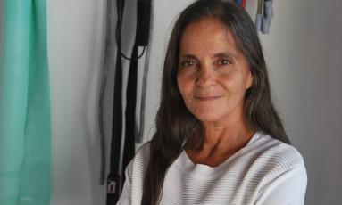 Marcia Lomardo hoje dá aulas que misturam artes marciais, meditação e arte Foto: Arquivo pessoal