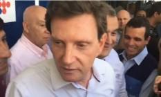 Prefeito Marcelo Crivella comenta tumor na próstata Foto: Ricardo Rigel