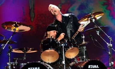 Show do Metallica no primeiro dia do Lollapalooza Brasil 2017 Foto: Lucas Tavares / O Globo