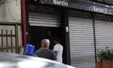O bar onde turista argentino e brasileiros brigaram em Ipanema Foto: Thiago Freitas / Agência O Globo