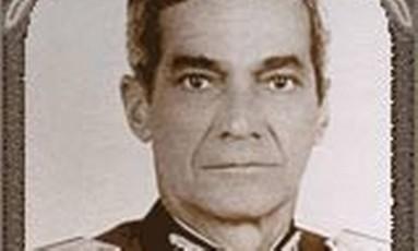 O general Zenildo Gonzaga Zoroastro de Lucena Foto: Reprodução