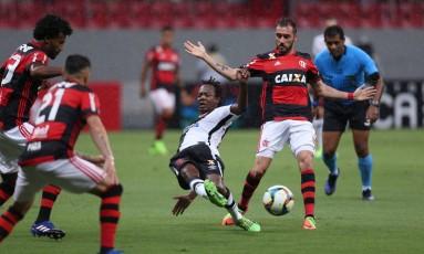 Flamengo e Vasco jogam no Mané Garrincha Foto: Michel Filho / Agência O Globo