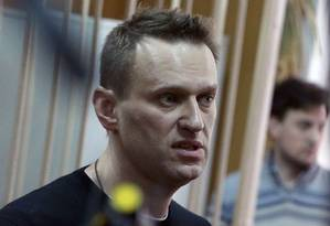 Kremlin critic Alexei Navalny, who was arrested during March 26 anti-corruption rally, attends a hearing at a court in Moscow on March 27, 2017. / AFP PHOTO / Vasily MAXIMOV Foto: VASILY MAXIMOV / AFP