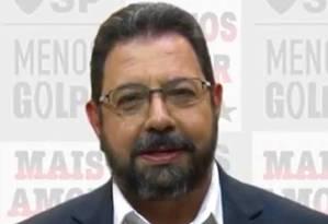 """Editor do site """"Blog da Cidadania"""", Eduardo Guimarães, teve celular e computadores apreendidos pela PF Foto: Reprodução"""