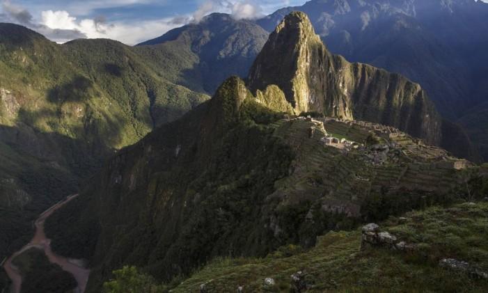 Machu Picchu, no Peru Foto: Daniel Marenco / Agência O Globo