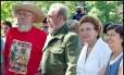 Agustina Castro (à direita) ao lado dos irmãos Ramón, Fidel e Angelina: todos morreram nos últimos anos Foto: Reuters