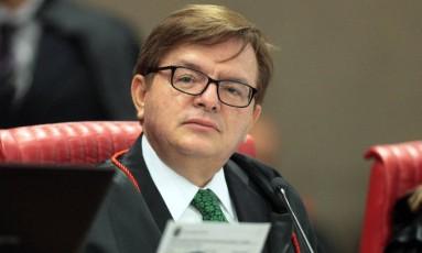 O ministro Herman Benjamin, relator do processo contra a chapa Dilma-Temer Foto: Divulgação/TSE
