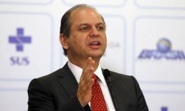 O ministro da Saúde, Ricardo Barros Foto: Givaldo Barbosa / Agência O Globo