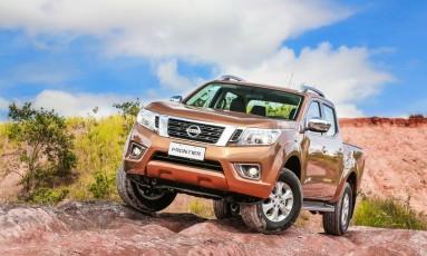 Na nova geração, a Frontier ficou mais imponente e eficiente Foto: Nissan / Divulgação