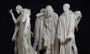'Os burgueses de Calais' Foto: Christian Baraja / Divulgação/Museu Rodin