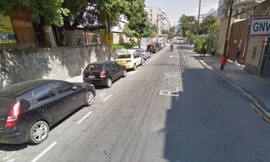 Tentativa de assalto aconteceu na Rua do Matoso, na Tijuca, na Zona Norte da cidade Foto: Google Street View