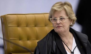 Ministra Rosa Weber, do STF, é a relatora do caso e pediu urgência Foto: Jorge William / Agência O Globo