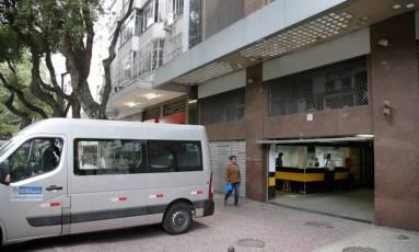 Fachada do prédio da Secretaria estadual de Ciência e Tecnologia, na Rua da Glória, Zona Sul do Rio Foto: Guilherme Pinto / Rafael Moraes / Extra