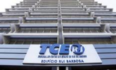 Prédio do Tribunal de Contas do Estados do Rio Foto: Divulgação