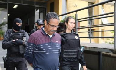 Ex-gerente da Petrobras Roberto Gonçalves foi preso na Operação Paralelo Foto: Geraldo Burniak / Agência O Globo