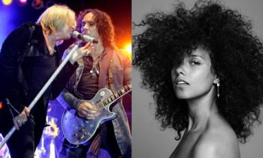 Def Leppard e Alicia Keys tocam no Palco Mundo Foto: Divulgação