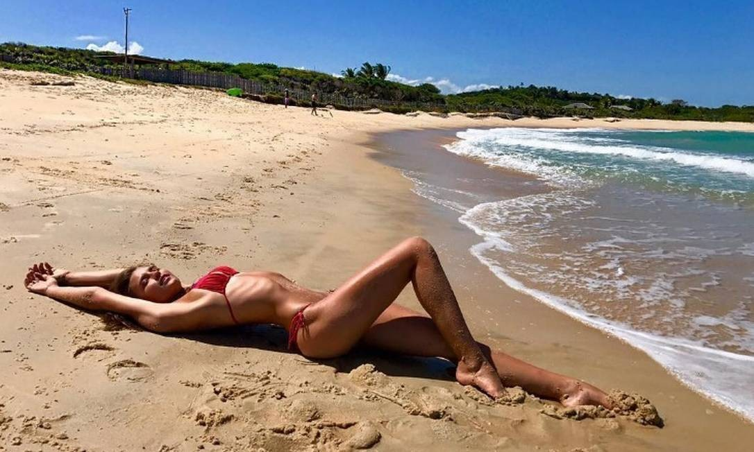 Fernanda Liz: musa do Instagram Foto: Reprodução/ Instagram