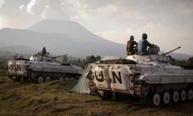 Soldados da missão de paz da ONU na RD Congo Foto: Monusco