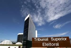 A fachada do Tribunal Superior Eleitoral Foto: Roberto Jayme/TSE/Divulgação