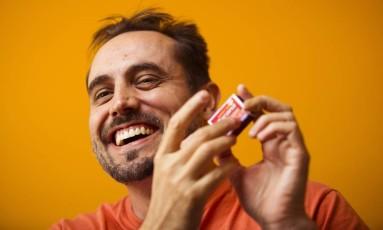Stephan Bocksay, professor de Harvard e estudioso do samba Foto: Leo Martins / Agência O Globo