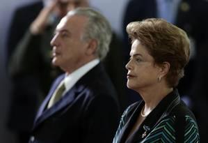 Julgamento da chapa presidencial de 2014 começa nesta terça-feira Foto: Jorge William / O Globo