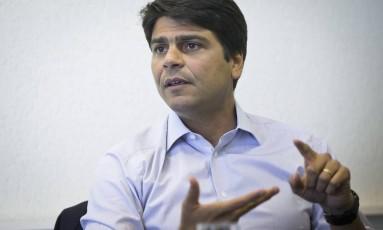 Pedro Paulo: sem clima para votação de projeto de ajuste Foto: Guito Moreto em 24/10/2016 / Agência O Globo