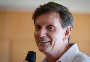 Marcelo Crivella, prefeito do Rio de Janeiro Foto: Agência O Globo