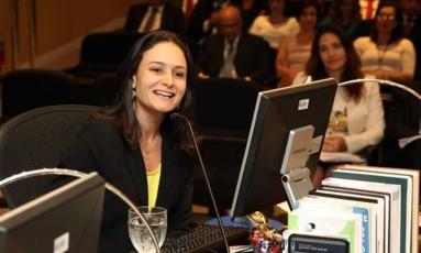 Corregedora e também conselheira Marianna Montebello é a única integrante do TCE-RJ que não é alvo da ação Foto: Divulgação