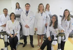 Parte da equipe multidisciplinar do Hospital Pró-Cardíaco que começa a atender pacientes em abril Foto: Thalita Pessoa / Agência O Globo