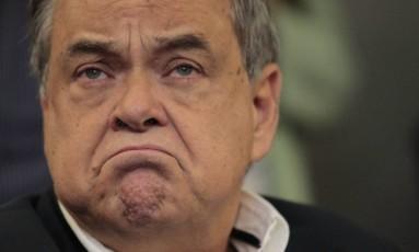 Lélis Teixeira, presidente da Fetranspor foi levado para depor na PF Foto: Fábio Guimarães/29-5-2014