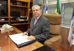 O ex-presidente do Tribunal de Contas do Estado Jonas Lopes de Carvalho Foto: Urbano Erbiste / 9-7-2016