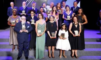 A 14ª edição do Prêmio Faz Diferença homenageou os destaques de 2016, em cerimônia no Copacabana Palace Foto: Pablo Jacob / Agência O Globo
