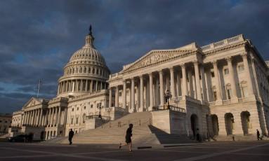 Congresso dos Estados Unidos, em Washington. Nicholas Kamm/AFP