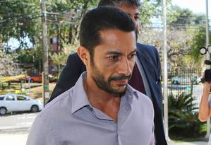 O lobista Fernando Soares, conhecido como Baiano Foto: Geraldo Bubniak / Agência O Globo 18/04/2016