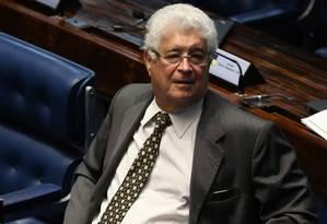 O senador Roberto Requião (PMDB-PR) Foto: Ailton de Freitas / Agência O Globo