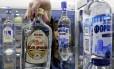 Vodcas russas poderão continaur nos mercados de New Hampshire Foto: Reuters