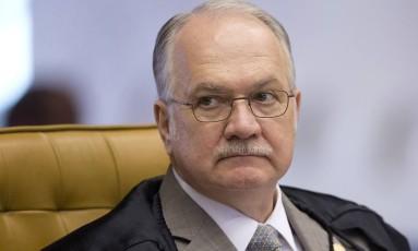 O ministro Edson Fachin Foto: Jorge William / Agência O Globo