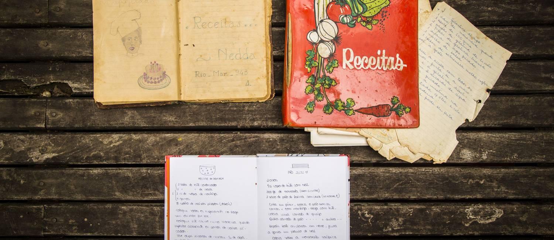Os cadernos da família Capeto Foto: Bárbara Lopes