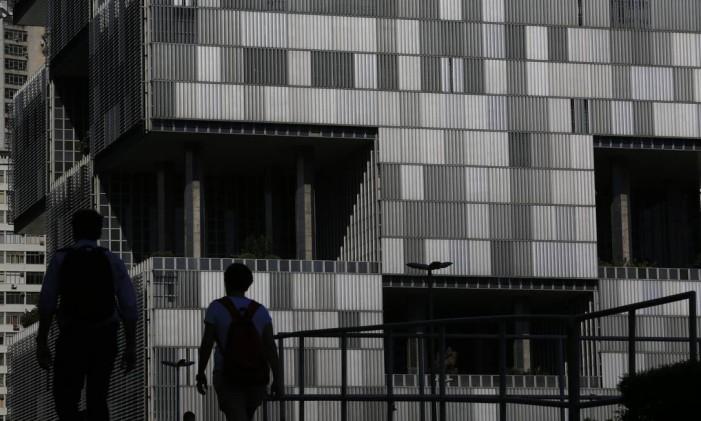 Sede na Petrobras, no Centro Foto: Dado Galdieri / Bloomberg
