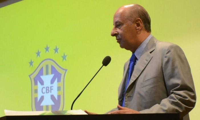 O presidente da CBF, Marco Polo Del Nero Foto: Divulgação