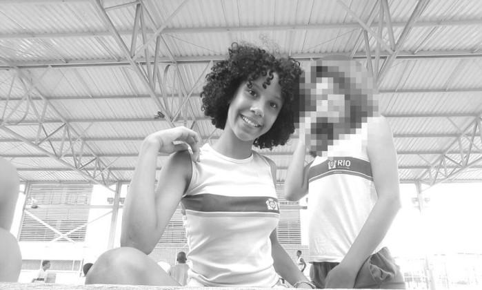 Maria Eduarda, de 13 anos, morta após ser baleada dentro de uma escola municipal Foto: Reprodução