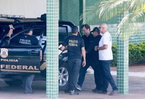 Os lobistas Jorge Luz e seu filho foram presos em Miami Foto: Ailton de Freitas / Agência O Globo