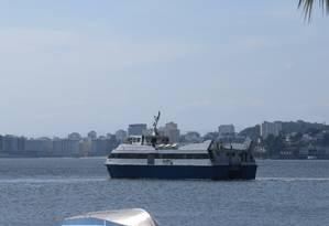 NI - 26/10/2016 - Estado reduz número de viagens de barcas na Estação hidroviária de Charitas Foto: Renan Almeida