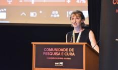 Rowena Johnston, vice-presidente e diretora de pesquisa da fundação. Foto: Lucas Ismael