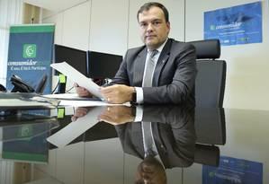 """Arthur Rollo quer maior articulação entre os Procons, e citou órgão estadual e municipal do Rio: """"É preciso que falem a mesma língua"""" Foto: André Coelho / O Globo"""