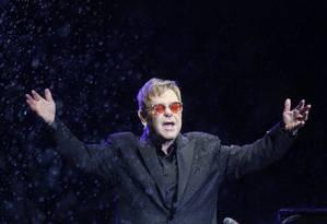 Elton John Foto: Marcelo Carnaval / O Globo