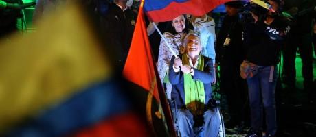 O candidato do governo, Lenín Moreno, venceu as eleições no Equador Foto: REUTERS