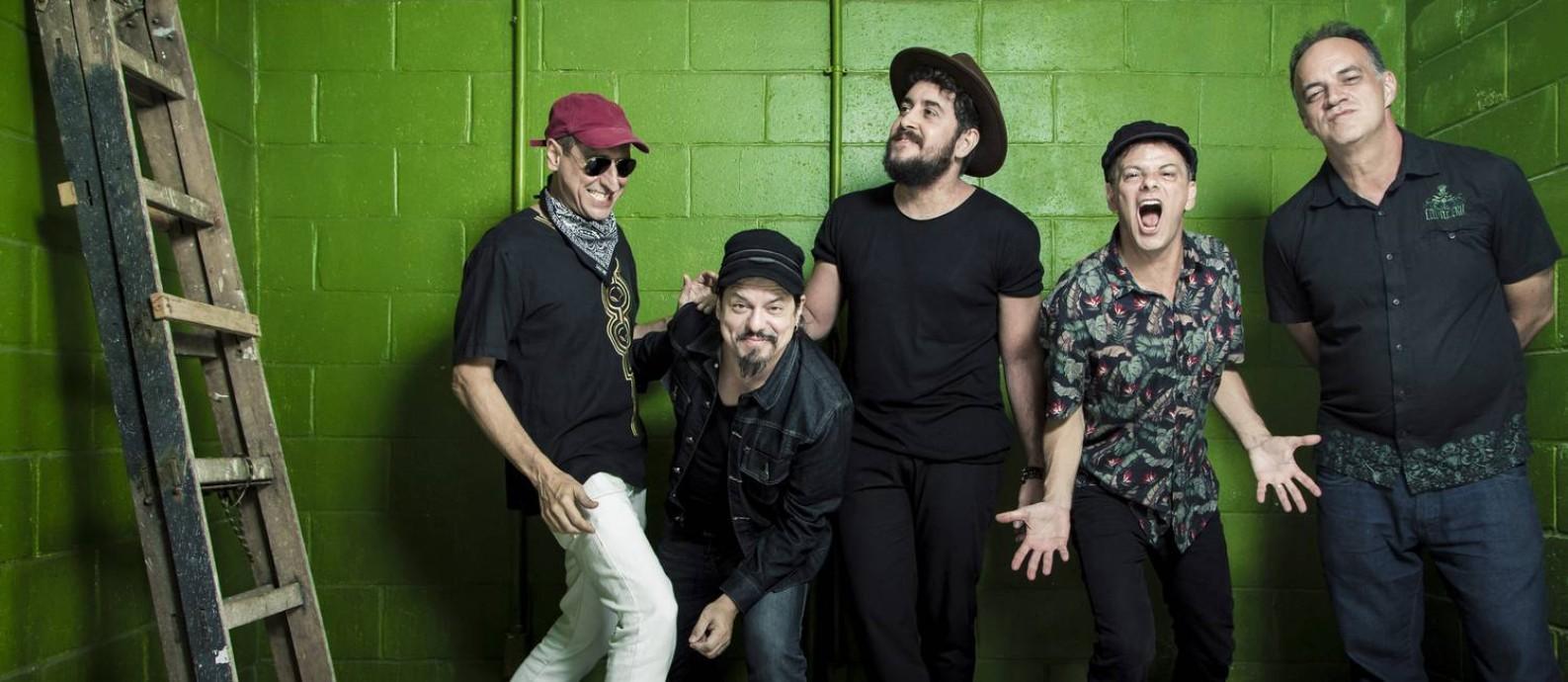 A banda de rock Barão Vermelho se prepara para retornar aos palcos com nova formação Foto: Leo Martins / Agência O Globo